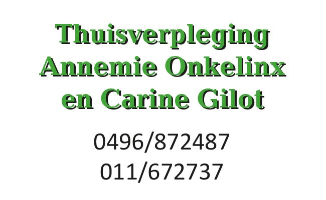 Thuisverpleging Onkelinx Gilot
